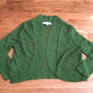 6 for $25 Anthropologie Green Cardigan
